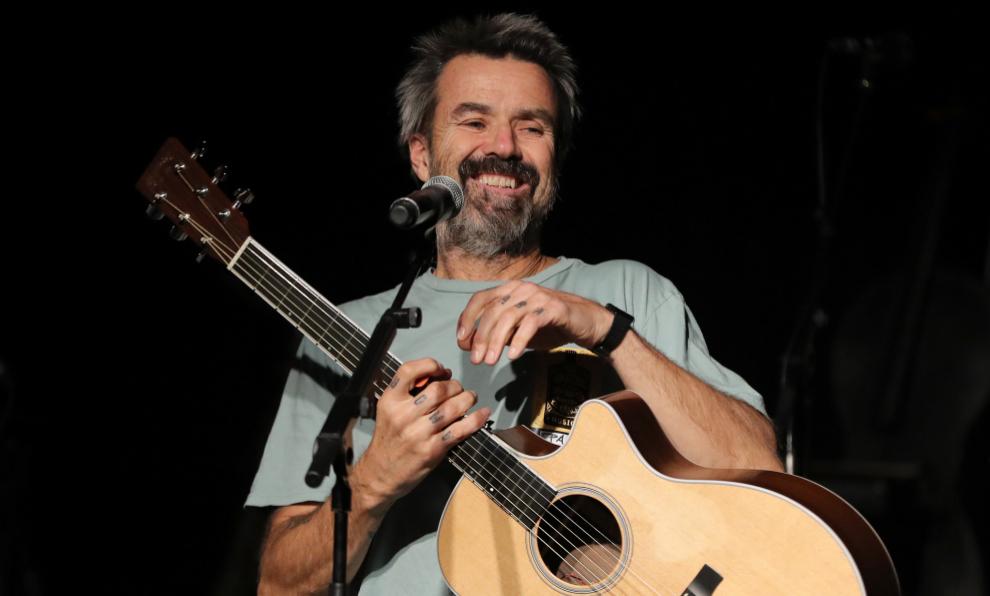 Pau Donés en su último concierto, el pasado 23 de diciembre en...