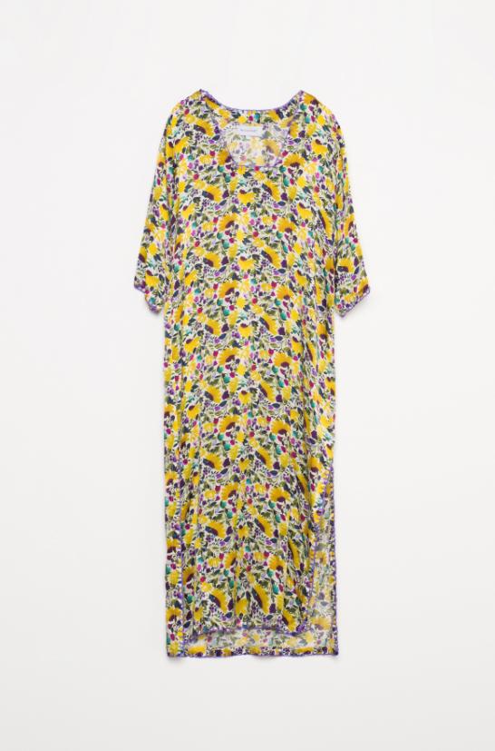 Vestido túnica de flores de la firma Michonet.
