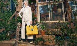 Jane Fonda, en la imagen de campaña de #GucciOffTheGrid