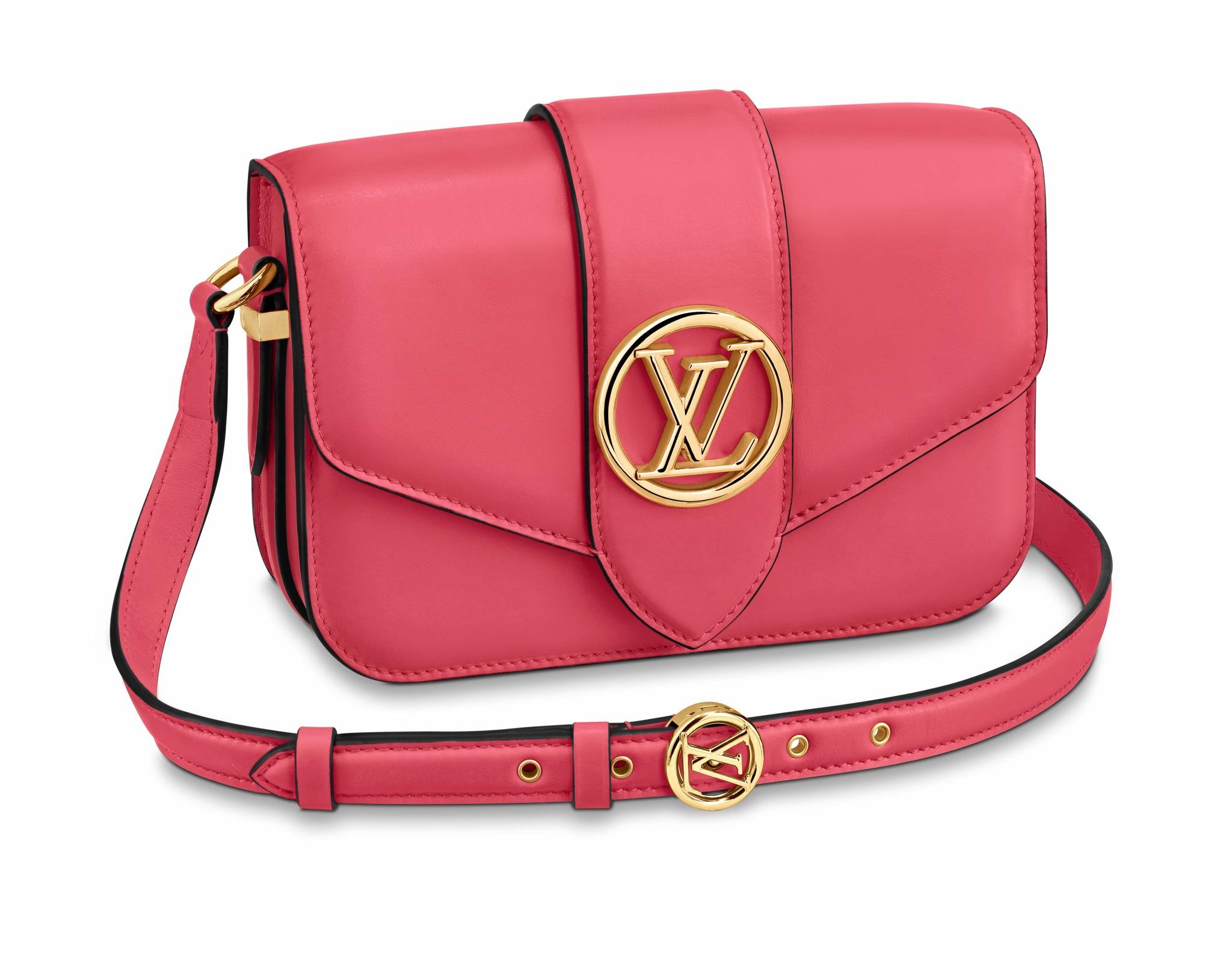 Nos encanta el LV Pont 9 en el tono rosa <em>Dahlia</em>.