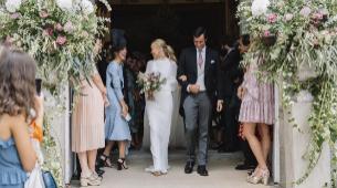 Sofía y Rodrigo decidieron casarse en La Real Colegiata de San...