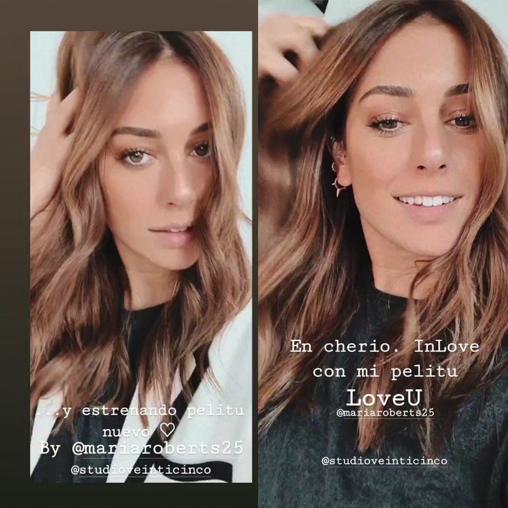 El nuevo cambio de look de Blanca Suárez castaño chocolate luminoso, la tendencia del verano.