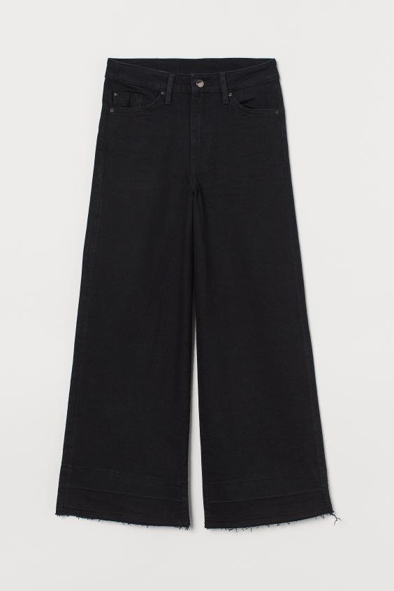 Jeans negros de HM.