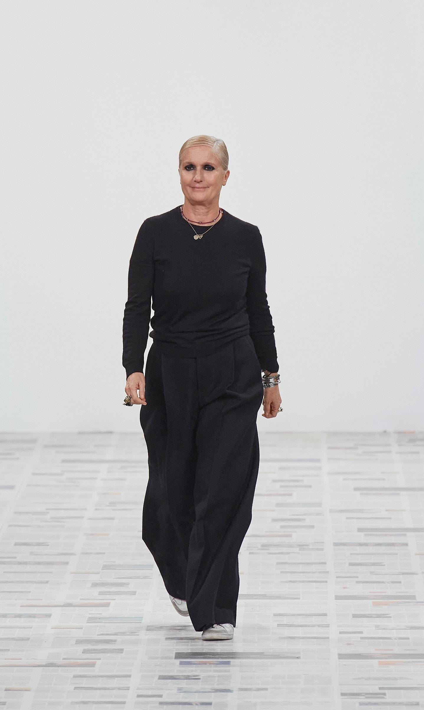 Maria Grazia Chiuri, directora creativa de Dior.