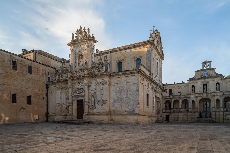 Vistas de Lecce, donde será el desfile Crucero 2021de Dior.