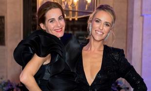 En la foto Rosario Domecq y Laura Vecino en una de las últimas...