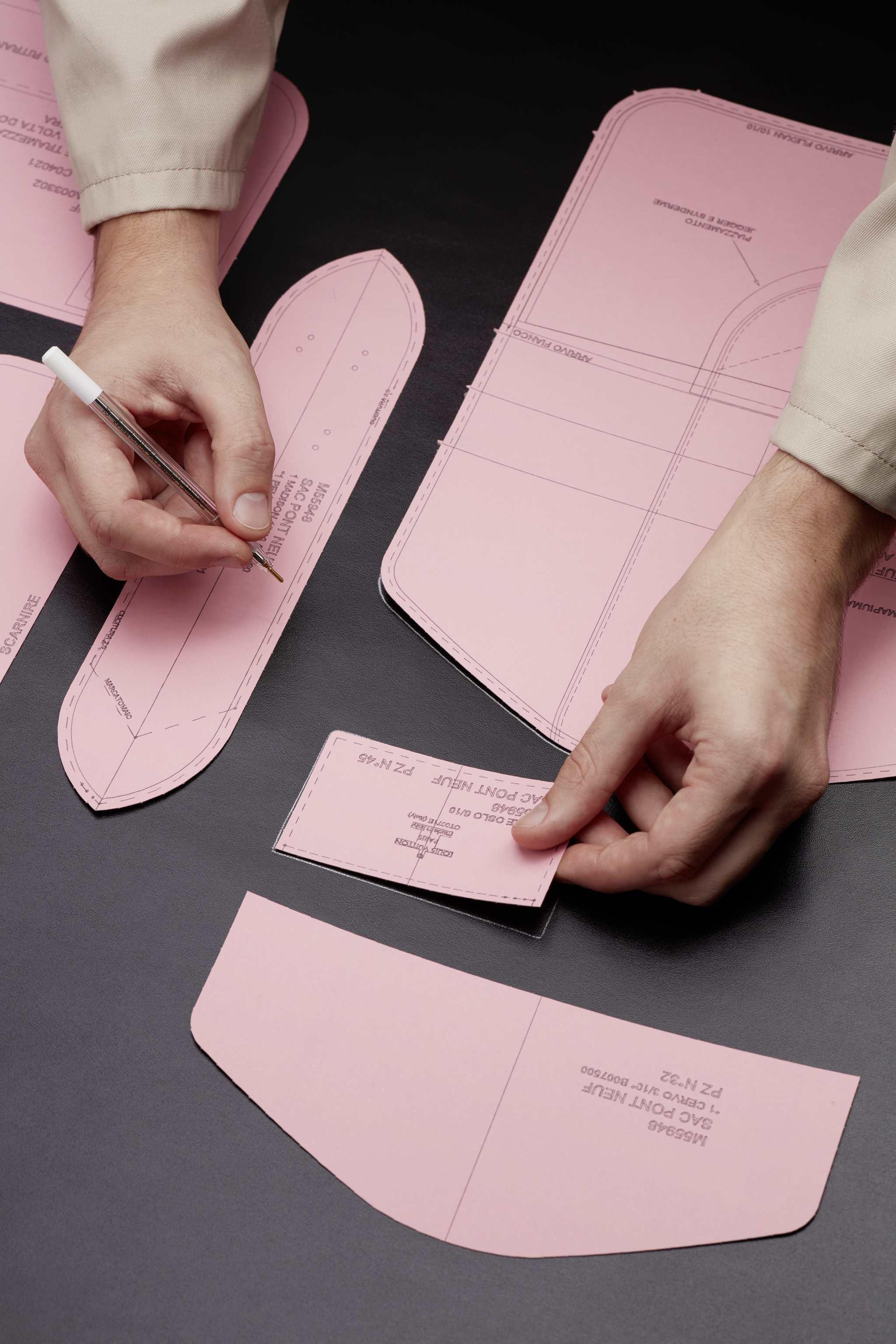 Elaboración del patrón y del trazado de la piel del LV Pont 9.