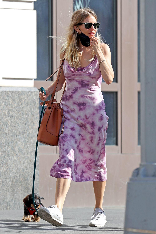 La actriz Sienna Miller.