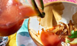 Recetas originales de cremas frías y gazpachos que cuidan las...