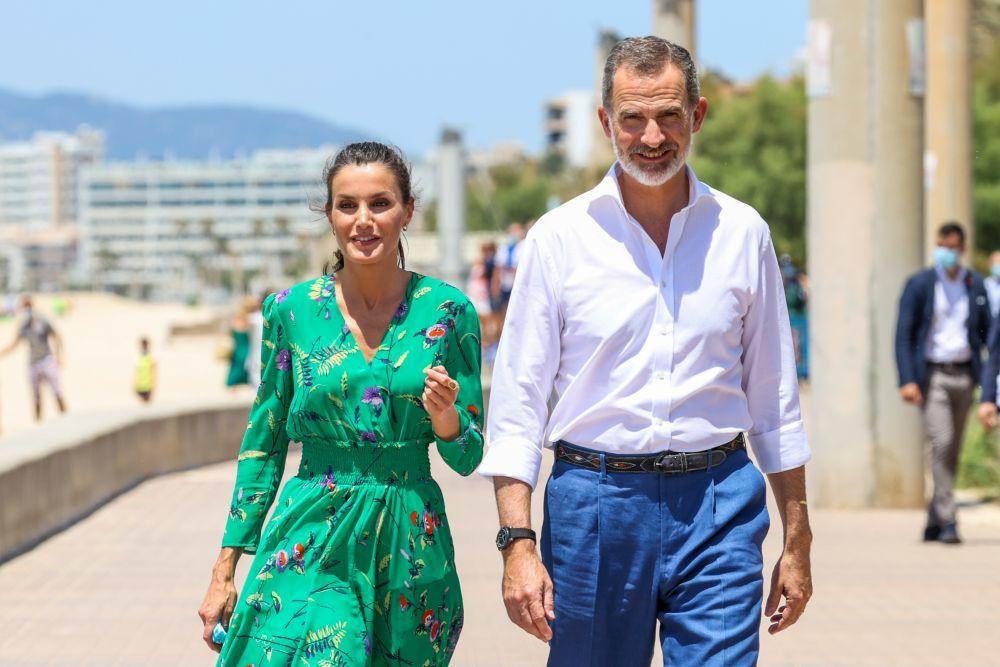 Los Reyes en Mallorca.