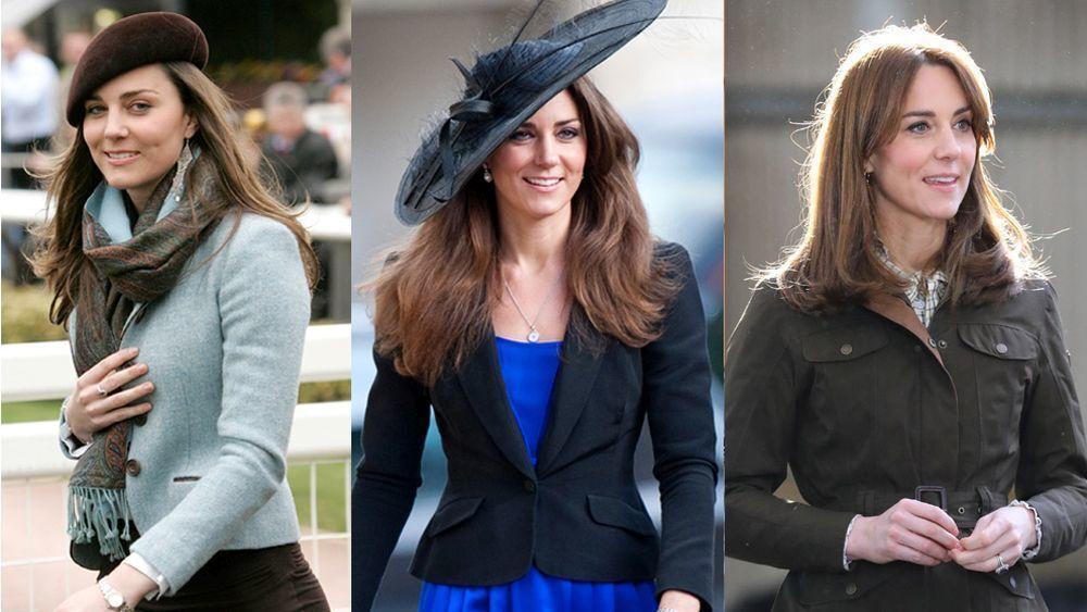 Así ha evolucionado el estilo de Kate Middleton, look a look