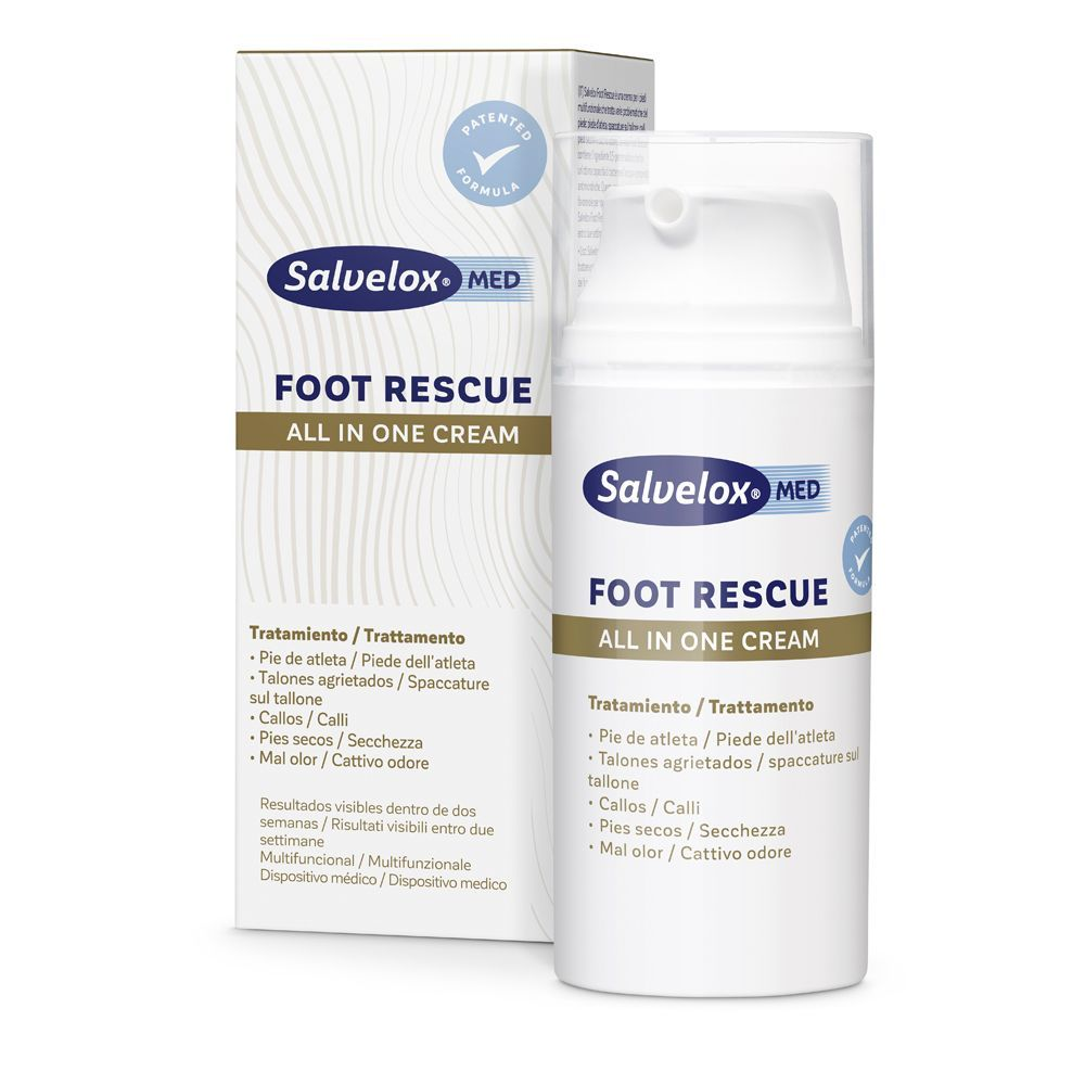 Crema multiusos Foot Rescue All in One de Salvelox. En farmacias.