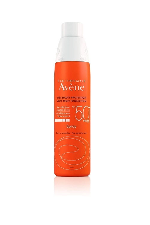 Eau Thermale Avéne Spray SPF 50, 23,67 euros.