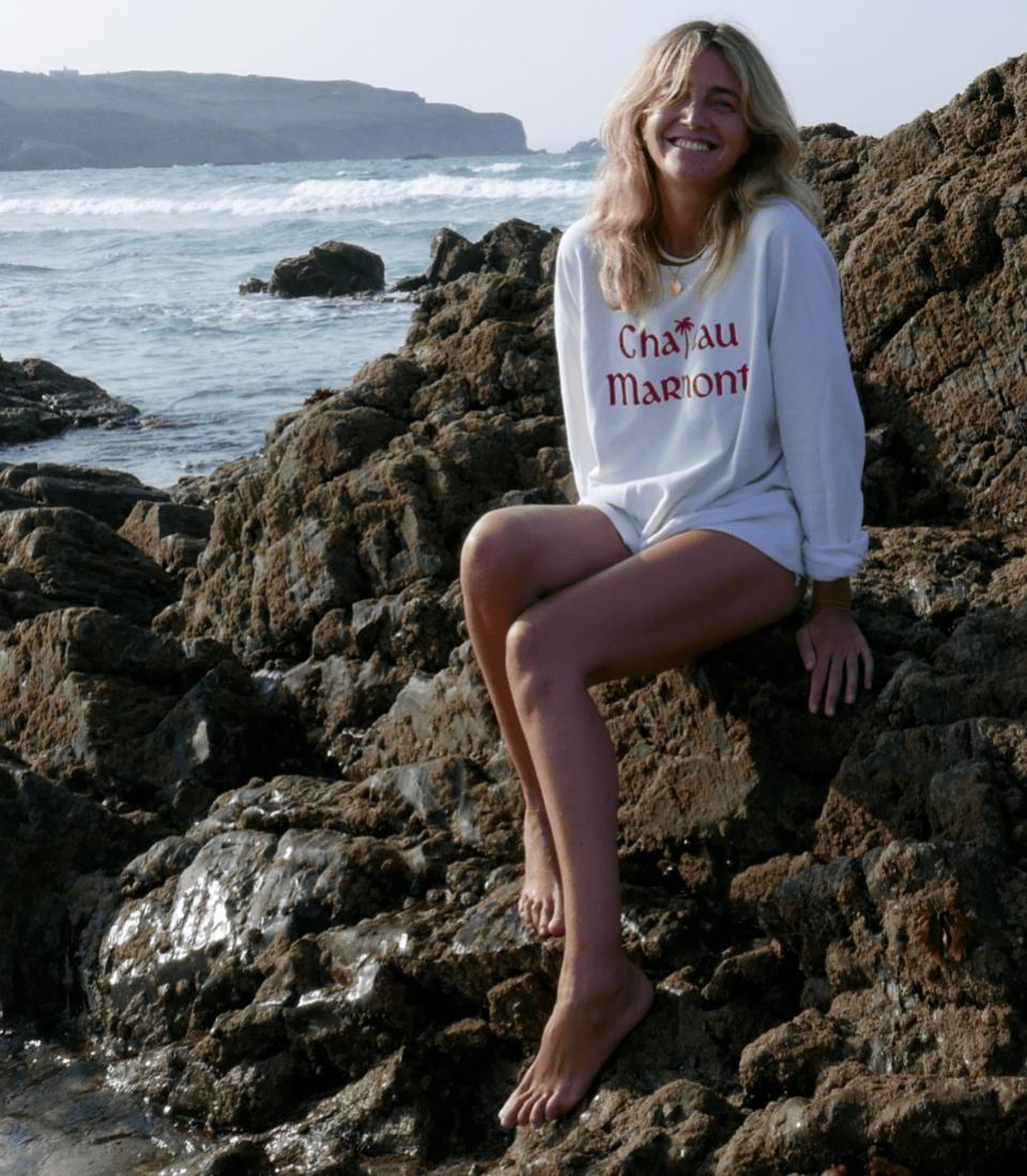 Julia Martínez en una imagen de verano de 2019