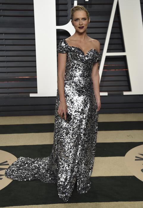 Teresa Palmer en la after party de los Premios Oscar 2017.