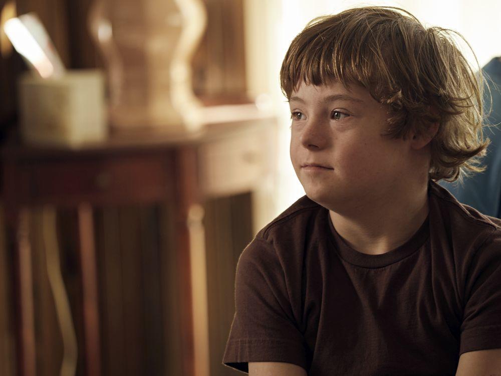 """Stevie, el hermano real de Michelle Payne, se interpreta a sí mismo en la película """"Corre como una chica""""."""