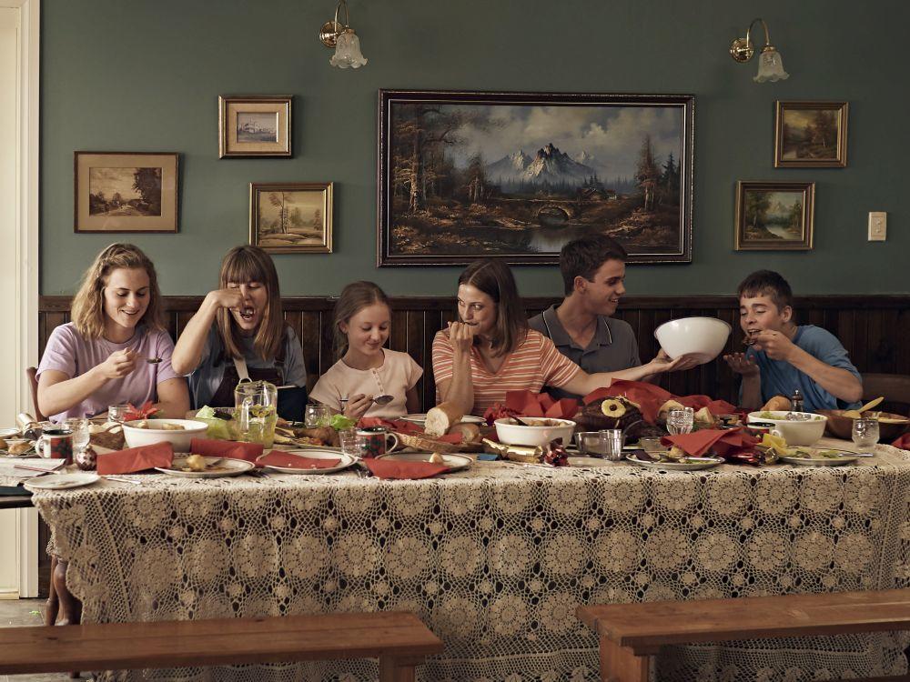 La familia Payne está compuesta por diez hermanos: Michelle es la pequeña.