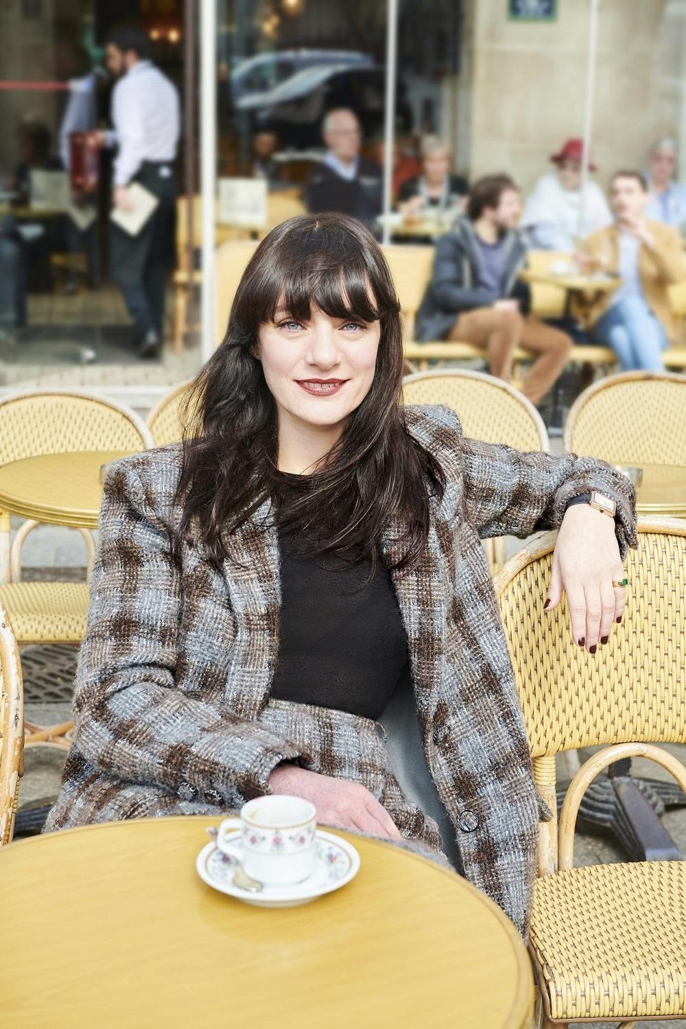 Lucía Pica en París.