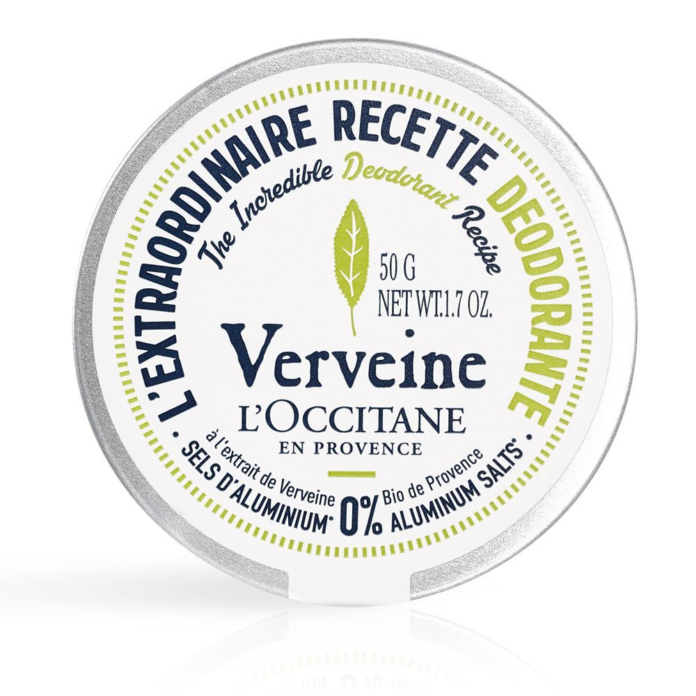 Bálsamo desodorante en crema de verbena de LOccitane.