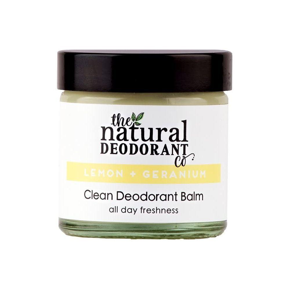 Desodorante en crema de limón y geranio de The Natural Deodorant Co.