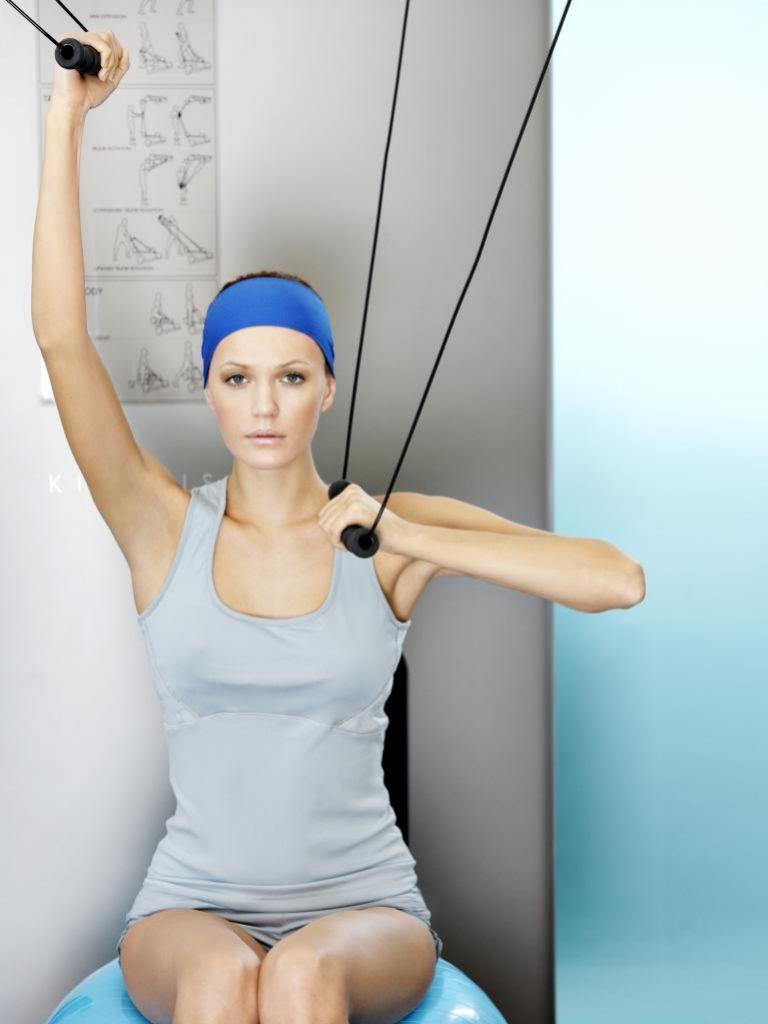 Los tríceps pierden mucho tono si no se ejercitan con frecuencia.