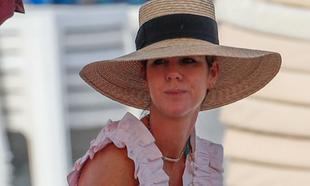 Amelia Bono en Ibiza.