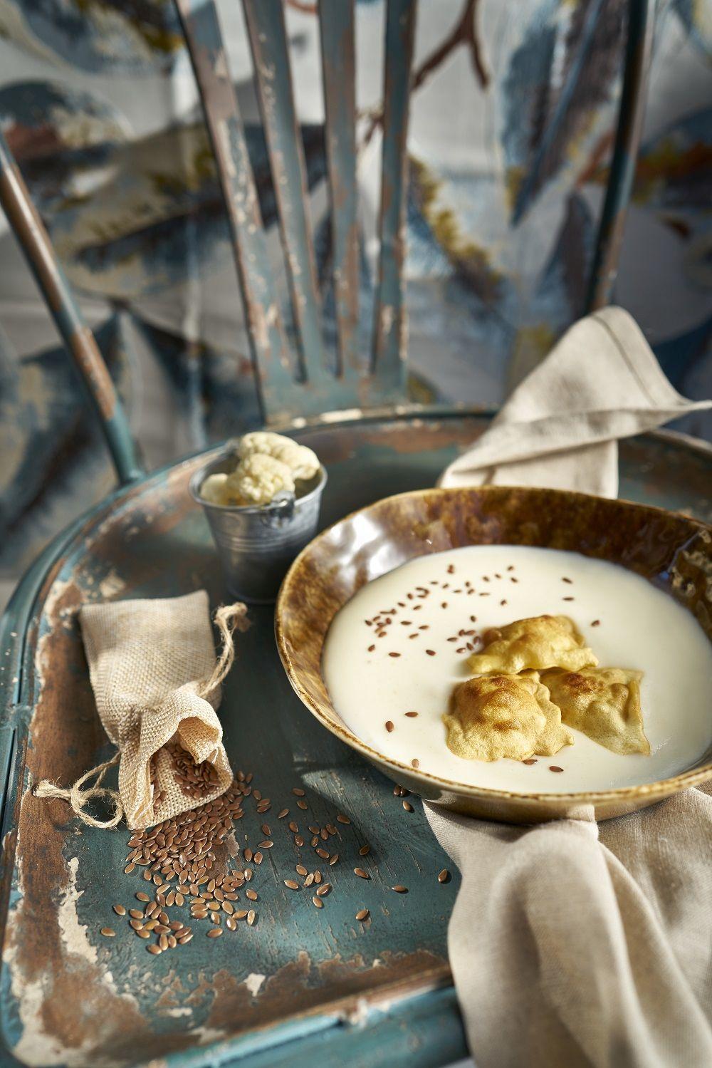 Vichyssoise fría para una cena ligera y riquísima.