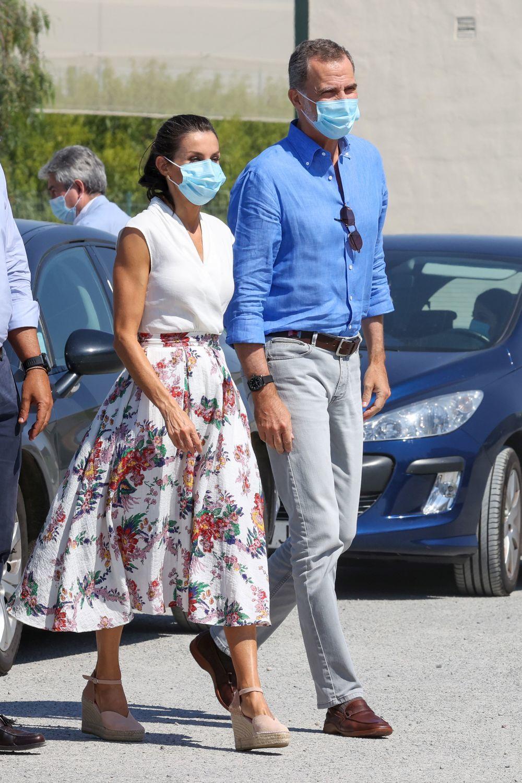La Reina Letizia en Murcia.
