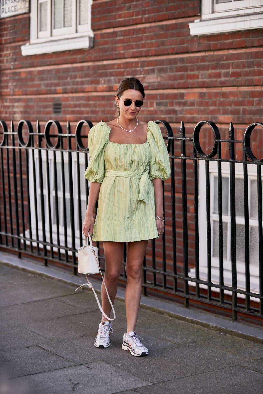 Look de la Semana de la Moda de Londres.