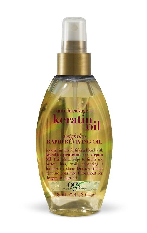 Aceite de Keratin Oil, ogx.