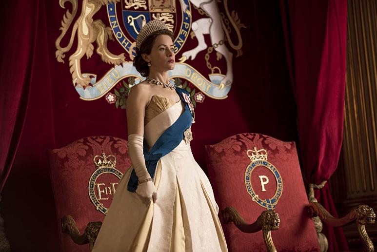 Claire Foy en The Crown