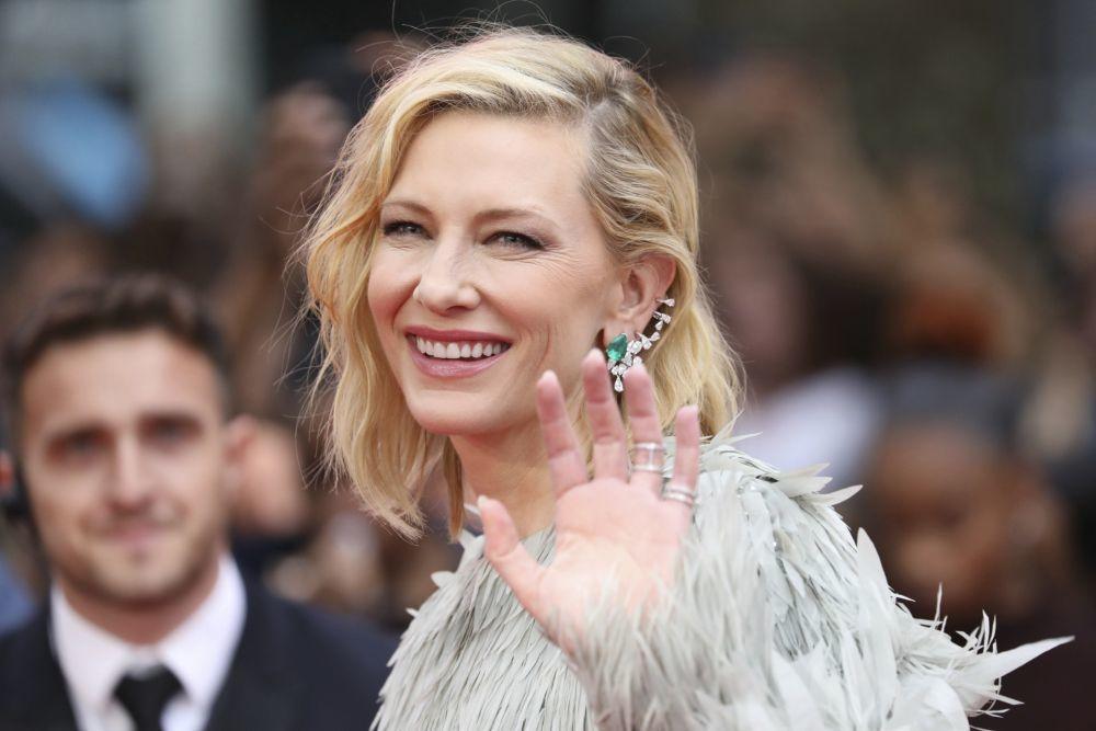 Pelo rubio bien platino, ceniza, dorado... no hay color que se le resista a Cate Blanchett.
