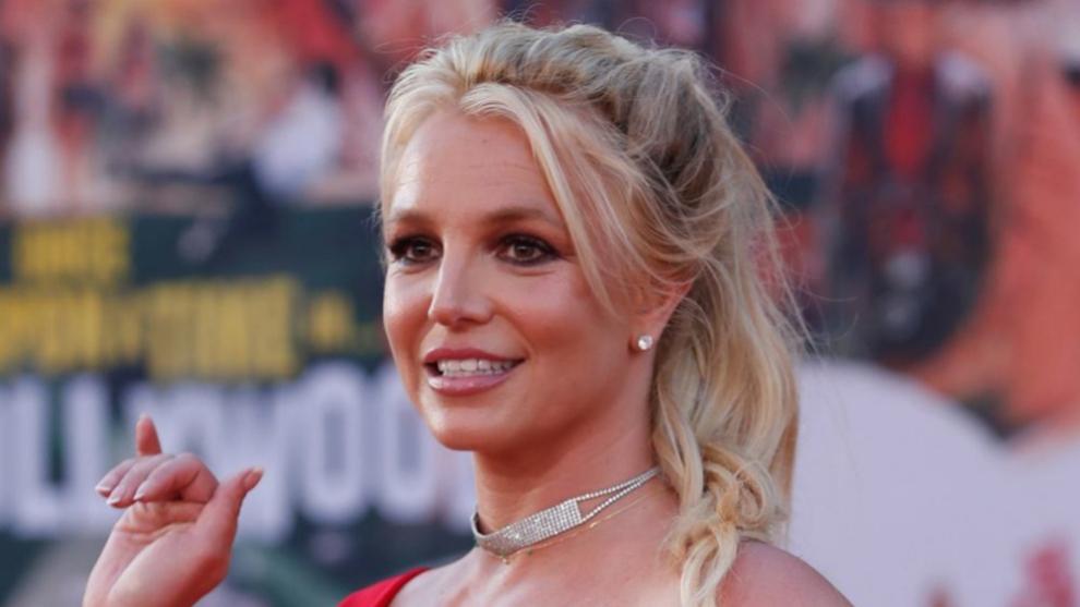 """Britney Spears en el estreno de """"Once Upon a time in Hollywood"""" en Los..."""