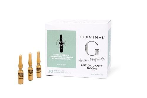 Germinal Acción Profunda Antioxidante Noche 30 ampollas. 42,75...