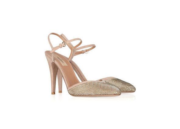 Los zapatos de Valentino con los que se casó Beatriz de York.