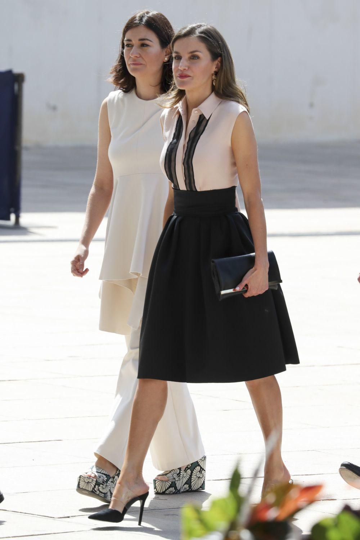 Las piernas y el abdomen son otras dos de las zonas que más trabaja la reina Letizia.