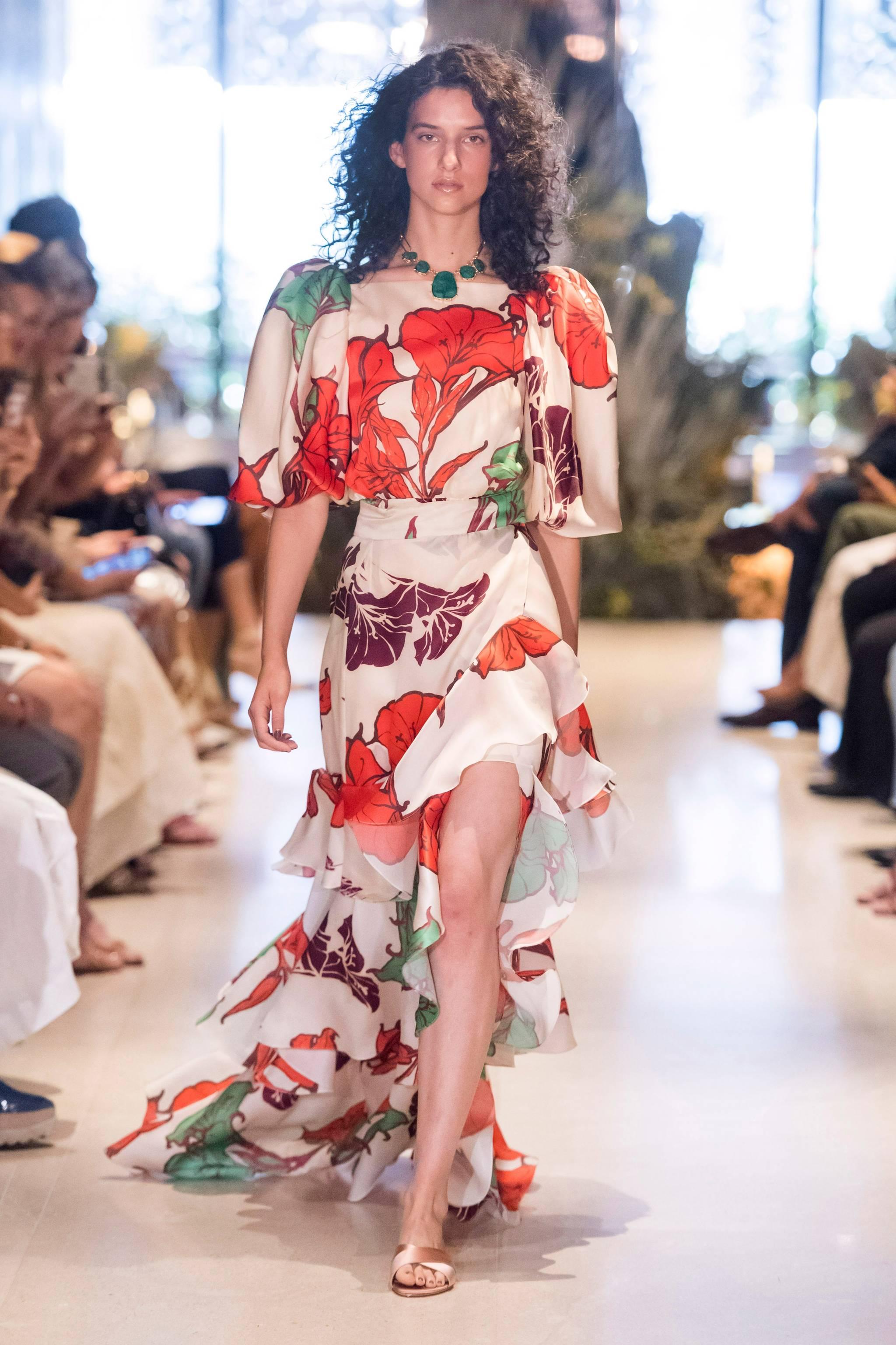 Vestido de Johanna Ortiz de la colección Resort 2020.