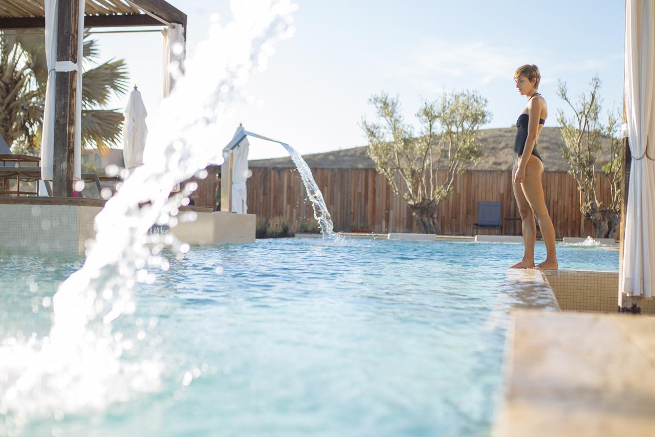 Zona exterior del spa Be Aloe Wellness en Salobre Hotel Resort &...