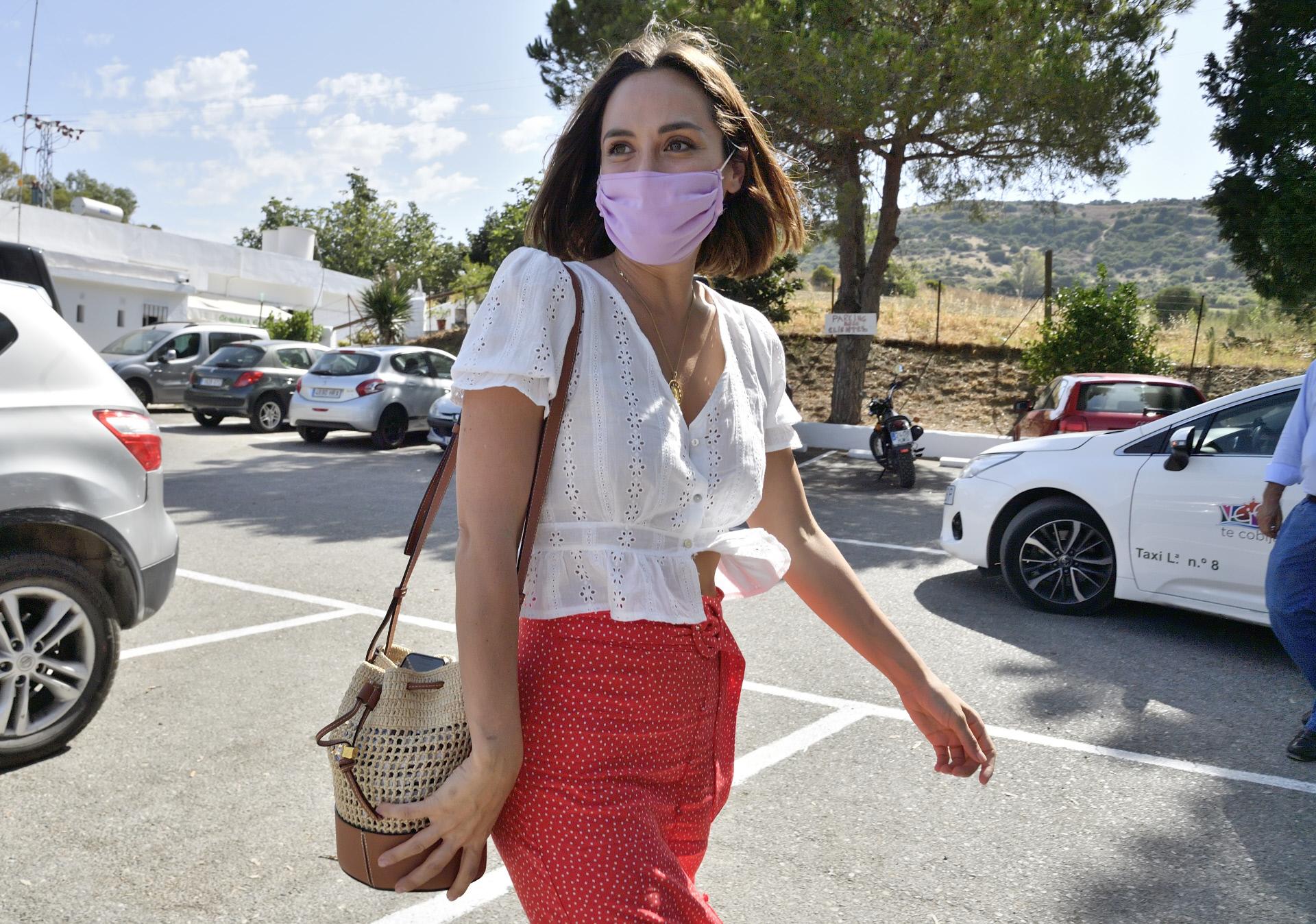 Tamara Falcó de vuelta en Madrid.