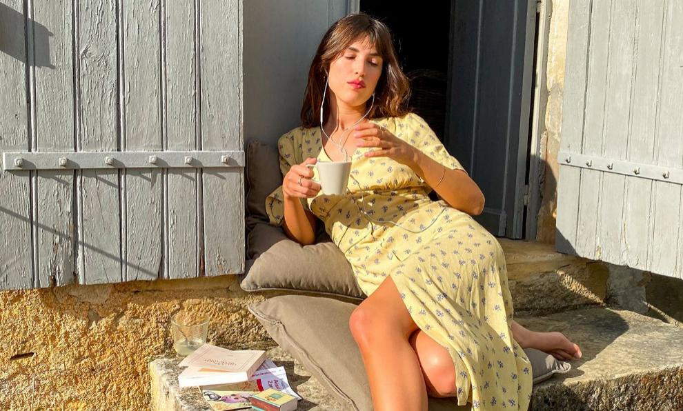 Jeanne Damas posa para Rouje