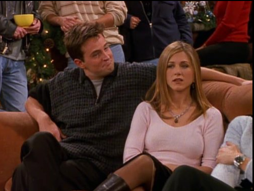 Jennifer Aniston y  Matt LeBlanc en Friends