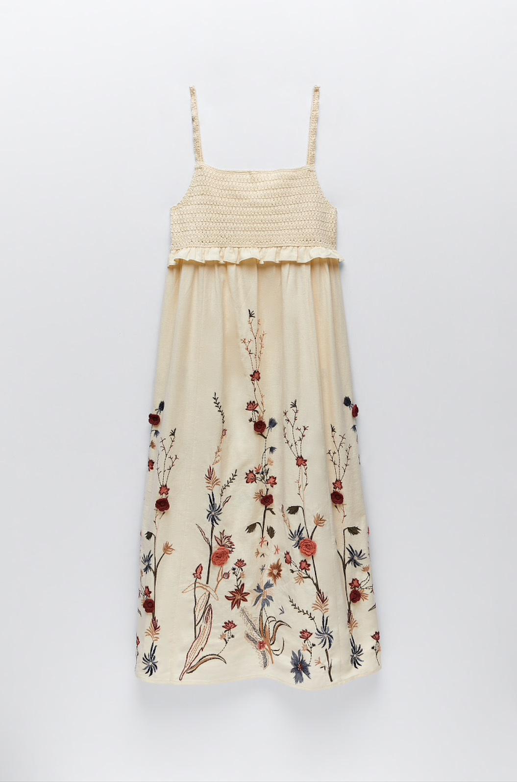 Vestido de Zara, 49,95 euros.