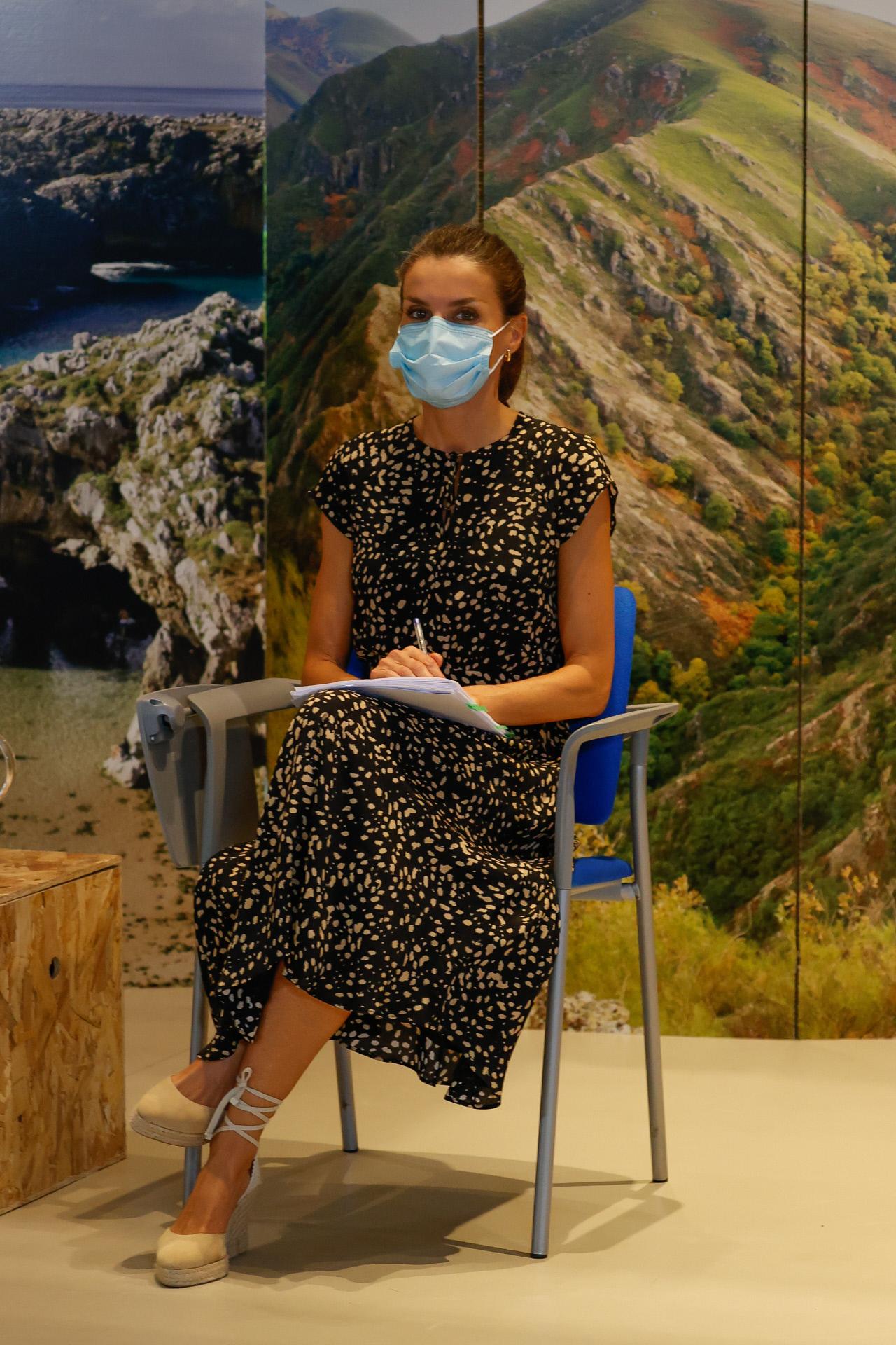 La reina Letizia en Asturias.