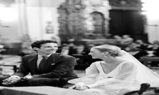 Carmen de la Puerta y Nacho Pascual se casaron en la Iglesia de Santa...