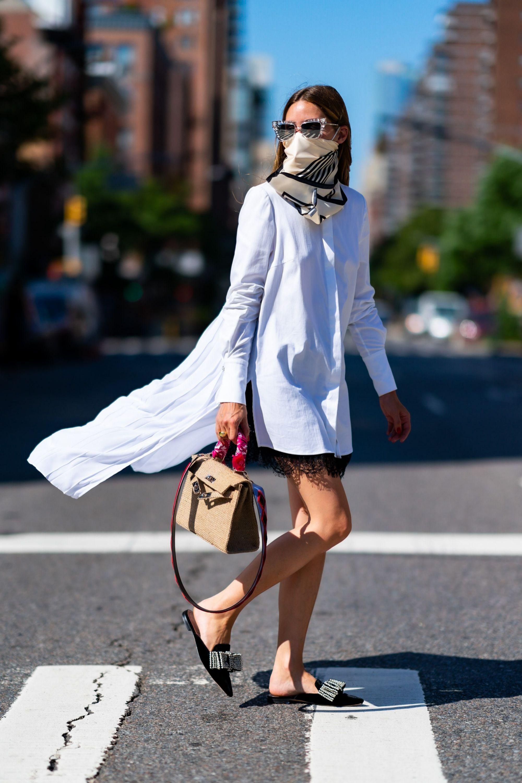 La nueva forma ideada por Olivia Palermo para lucir sus pañuelos.