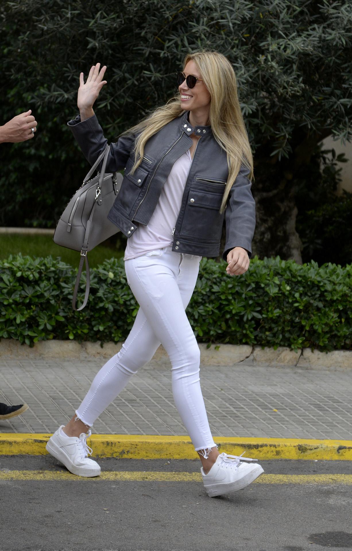 El combo jeans y camiseta, el favorito de Maribel Nadal.