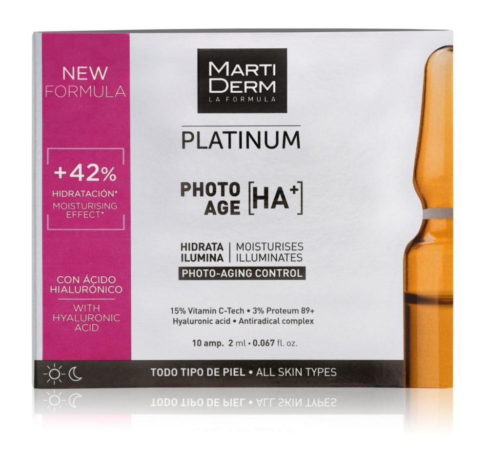 PHOTO-AGE HA+, Martiderm. Con un 15 % de Vitamina C, retinol y ácido...