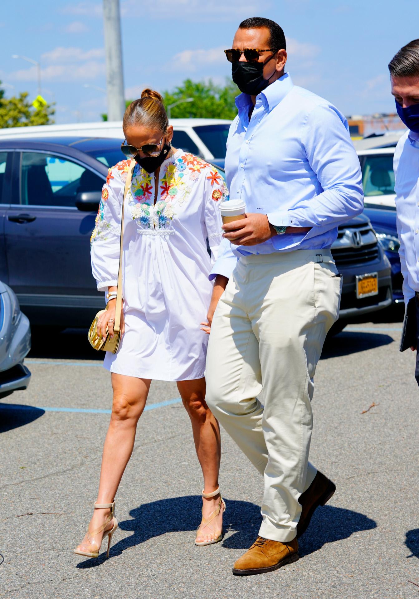 Jennifer Lopez y Alex Rodriguez.