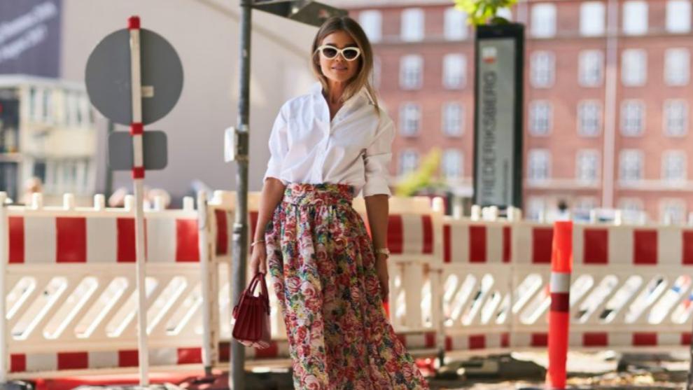 Las faldas de flores más bonitas de la temporada