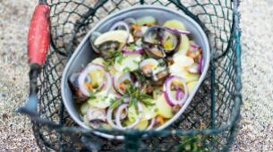 Estas recetas de pescado y marisco te transportan a unas vacaciones en...